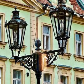 Twilight In Prague by Ira Shander