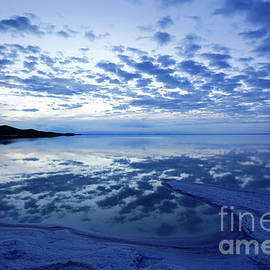 Twilight Reflections Salar De Uyuni Bolivia by James Brunker