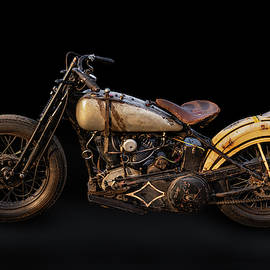 Twin Cam Harley Racer by Andy Romanoff