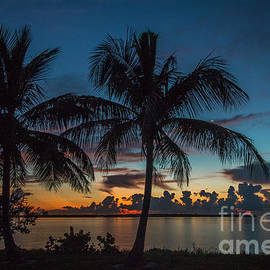 Twin Palms Sunrise by Tom Claud