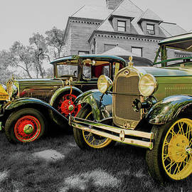 Two A Model Fords by John Bartelt