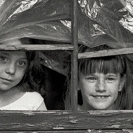 Two Girls by Wallace Rollins