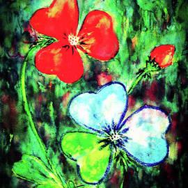 Heart Flowers by Hazel Holland