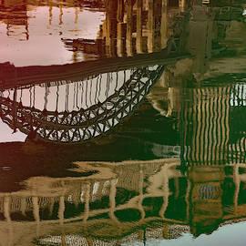 Tyne Bridges Reflection by Clive Beake