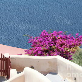 Typical Santorini View  by Christiane Schulze Art And Photography