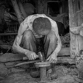 Ukrainian Villager by Yuri Lev