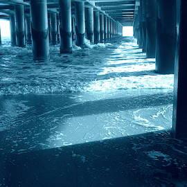 Under the Steel Pier - Atlantic City by Arlane Crump