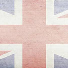 Union Jack Faded British Flag Design by Edward Fielding