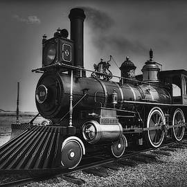 Union Pacific 119 Black and White by Michael Morse