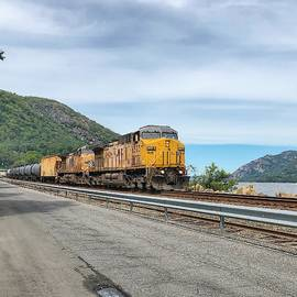 Union Pacific Engine 6573 by William Rogers