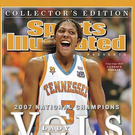 University Of Tennessee Candace Parker, 2007 Ncaa National Sports Illustrated Cover