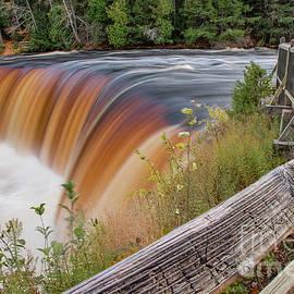 Upper Tahquamenon Falls Autumn Colors by Norris Seward
