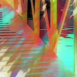 Urban Abstract 1065 by Don Zawadiwsky