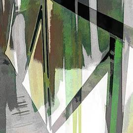 Urban Abstract 1089 by Don Zawadiwsky