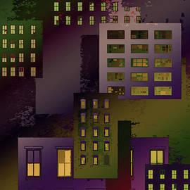 Urban Scene 4 by Robert Todd