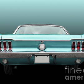 US American classic car mustang 1967 coupe by Beate Gube