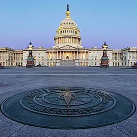 U.S. Capitol  by Jerry Fornarotto