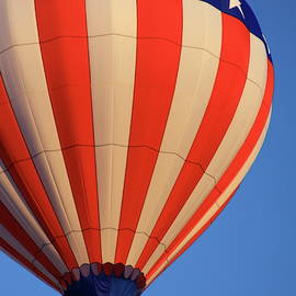 Usa Patriotic Hot Air Balloon by Tatiana Travelways