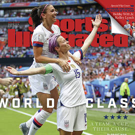 Usa Vs Netherlands, 2019 Fifa Womens World Cup Final Sports Illustrated Cover