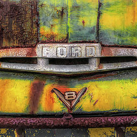 V8 Ford Truck by George Moore