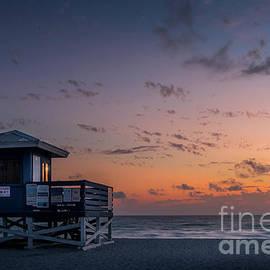 Venice Beach Sunset, Florida 2 by Liesl Walsh