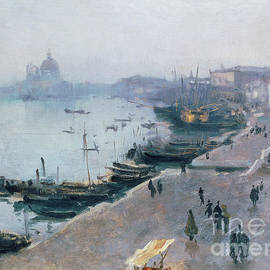 Venice in Grey Weather by John Singer Sargent