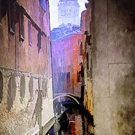 Venice Watercolour by Jack Torcello