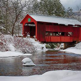 Jeff Folger - Vermont covered bridge