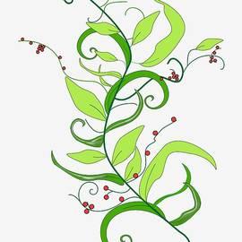Vertical Vine by Yuri Lev