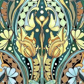 Very Art Nouveau by Melodye Whitaker