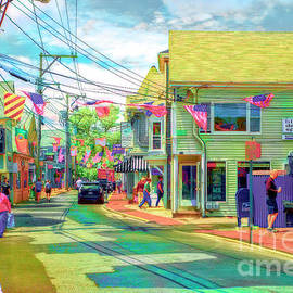 Vibrant Provincetown Massachusetts by Jack Torcello
