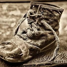 Paul Ward - Victorian Era Baby Shoe sepia