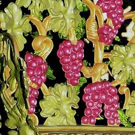 Victorian Grapevine Bench by Alida M Haslett