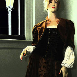 Victorian Lady By The Window by Rodger Painter