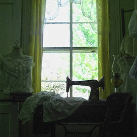 Victorian style sewing room by Tatiana Travelways