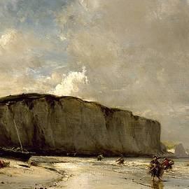 Eug  ne Isabey - View Along the Norman Coast