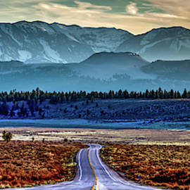 View From A Windy Road by Az Jackson