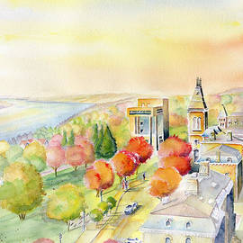 View From Clock Tower - Cornell University