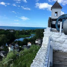 View from Fort Mackinac by Harvest Moon Photography By Cheryl Ellis