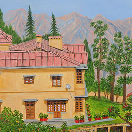 View From Gunhill Mussoorierie by Ajay Harit
