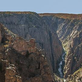 View From Kneeling Camel Overlook Black Canyon Of The Gunnison by NaturesPix