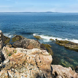 View From Otter Rocks by John M Bailey