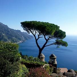 Amalfi Coast from Ravello by Lary Peterson