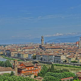 View of Duomo from Piazzele Michelangelo by Patricia Caron