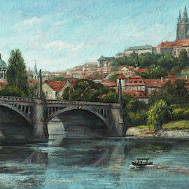 Leonid Polotsky - View of Prague