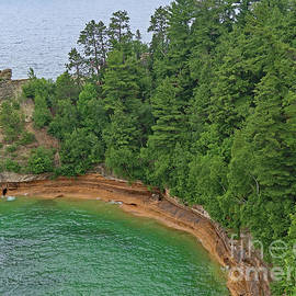 Viewing Miners Castle by Ann Horn