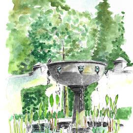 Villa Fountain by Masha Batkova