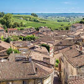 Village of Saint Emilion by Delphimages Photo Creations