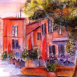 Village Roussillon Provence France by Sabina Von Arx