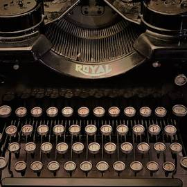 Vingtage Royal Typewriter by Christopher James